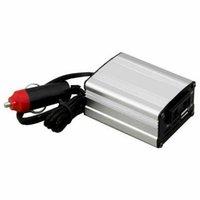 car powe silver power inverter adapter car converter 12v to 110v 220v