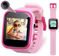 Детские умные часы малыша HD двойной камеры многофункциональный сенсорный экран дети SmartWatch с игровыми игрушками отличные игрушки на день рождения
