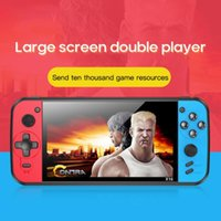 Portable Game Players Video Console Player Handheld Gaming Mini Double Joystick Controller Support HD Output MP4