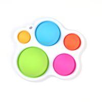 Nuevo Fidget Simple Dimple Toy Fat Brain Stress Hand Fidget Fidget for Kids Adultos Autismo Educativo Early Necesidad Especial