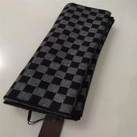 メンズデザイナーズスカーフのためのファッションウールスカーフ男性のサイズのスカーフ長いスカーフ箱のない箱のない180 * 30cm