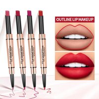 Lip Pencils 1pc Double-headed Liner 2 In 1 Lipstick Portable Long-lasting Color Waterproof Small Tube & For Makeup