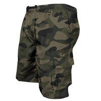 Men's Shorts 2021 Summer Cargo Bermuda Cotton High Quality Army Military Multi-pocket Casual Male's Outdoor Short Pants