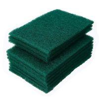 Green Green Durevole Heavy Duty Scour Pad Per uso generico Scrub Sponge Scouring Non graffiante POT Scrubber PULIZIA CA17