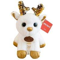다채로운 사슴 봉 제 장난감 인형 크리스마스 파티 결혼식 던지기 작은 인형 이벤트 선물 어린이 선물 박제 동물
