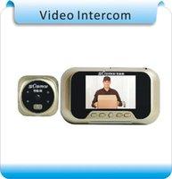 "Speicher 3 ""TFT-LED-Audio-Intercom-Türklingel / digitaler Tür-Viewer / Video-Peephol-Kameras-Telefone"