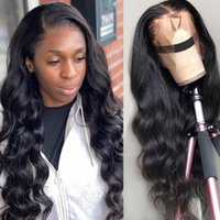 Lace Wigs 30 Inch Body Wave Front Wig Pre Plucked 13X4 HD Frontal Deep Loose Human Hair 4x4 Closure Nature