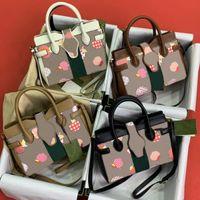 Женщины сумочка сумки на плечо фрукты напечатанные буквы ромб украшение диагональ мешок кожаный холст материал соответствующий дизайн