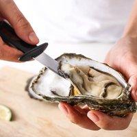 Multifunzione Acciaio Pesce Capefolo Pym Py Knife con manico in legno Coltelli da ostrica Sharp-bordatura Shucker Shell Seafood Opener DHL