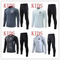 niños 2021 Alemania Chándal de fútbol 20/21 Hummels Kroos Draxler Reus Muller Gotze Camisetas de fútbol Camisetas Chicos Traje de entrenamiento