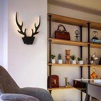 Duvar Lambaları Nordic Tarzı Lamba Oturma Odası Koridor Koridor Yatak Odası Başucu Basit Modern Yaratıcı Akrilik LED