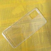 1,0 mm kristallklare weiche TPU-Fälle für Galaxie A82 S21 FE-Anmerkung 20 Plus S20 Ultra A21S M01 M31S M51 A22 5G F52 Ultradünner transparentes Abdeckungsgehäuse Silikon-leeres dünne Telefon-Haut