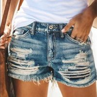 Jeans Donne Fashion Summer Hole Tassel Shorts Donne