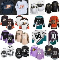 Nome personalizzato Anaheim Ducks Golden Edition Ice Hockey 4 Cam Fowler Jersey 47 Hampus Lindholm 36 John Gibson 25 Ondrej Kase