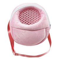 Small Animal Supplies Pet Carrier Cage Hamster Chinchilla Travel Warm Bags Guinea Pig Carry Pouch Bag Breathable Rat Leash