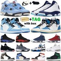 Баскетбольные туфли Мужчины Женщины 1S High Og Jumpman 1 Университет Синий Hyper Royal Mid Light Smoke Серый Чикаго Темные Моча Твист Мужские кроссовки
