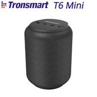 Tronsmart T6 Mini Odkryty Przenośny Głośnik 15W IPX6 Wodoodporna Bezprzewodowa kolumna Port Voice Asystent 24 godziny Czas Odtwórz