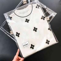 Pull à pull blanc floral de laine pour femme automne hiver luxe luxe vêtements vêtements harajuku kpop vêtements vintage