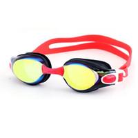 الكبار نظارات السباحة الرجال والنساء المهنية سيليكون بيسينا أرينا للماء بركة السباحة نظارات الغوص نظارات WMTVTY