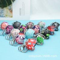 Pofengya Motorcycle Hat Keychain Helmet Car Pendant Safety Creative Gift