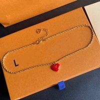Дизайнер Ожерелье Люкс Мода Ювелирные Изделия Очарователь Женщины Знакомства Знакомства Высокое Качество Подарок Ницца
