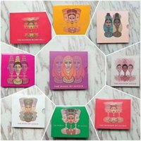 Maquillage de marque Pauche à paupières paillettes Scalier Matte Pearl Eaulettes Palete Palete Cosmétiques Palette Palette Palette Outils 9/12/16 Couleurs