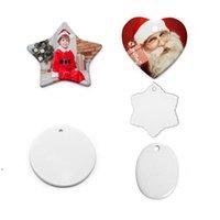 Di -y sublimazione in ceramica in ceramica in ceramica in ceramica in ceramica e artigianato ornamentale trasferimento di calore rotondo decorazione natalizia madre padre