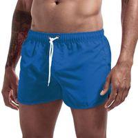 Men's Shorts Summer Swimwear Brand Beachwear Sexy Swim Trunks Men Swimsuit Low Waist Breathable Beach Wear Surf