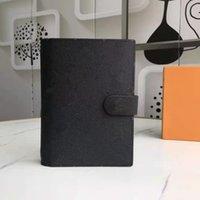 중형 소형 링 의제 커버 디자이너 여성 남성 패션 노트북 카드 홀더 케이스 럭셔리 여권 일기 메모장 리필 지갑