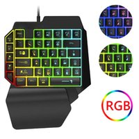 Keyboard Mouse Combos Wired Mechanical RGB Converter Combo Set Gamer Kit With Backlight OTG Adapter For PUBG PS4 PS5 Switch  One
