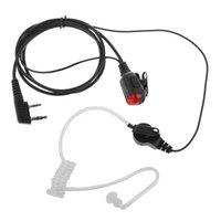 10X G Kształt ucho Hook Earpiece Słuchawki Mic PTT dla Kenwood K2107 TK3107 Baofeng Dwukierunkowy Radio UV-B5 UV-B6 H777 RT-5R RT7 RT22 Walkie Talkie