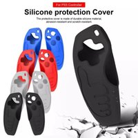Game Pad Silicone Case For PS5 Grip Protective Shell Joystick Grips Anti-Slip Cover Controller Gamepads Controllers & Joysticks