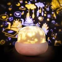 Грибная проекция светильника светодиодный ночной свет для детской спальни ночной проектор лампа для детей подарки для детей день рождения рождества 10111