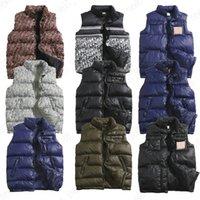 Winter for Mens Gilet Giubbotto Giacca Designer di lusso classico in cotone-imbottito vestiti da donna Lettera Patchwork Color Coat Outwear Streetwear Abbigliamento moda