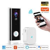 Wifi Tuya Smart Life Video Doorbell Waterproof Wireless PIR IP Camera Night Vision APP Control Call Intercom Video-Eye Apartments work with Alexa Amazon Google Home
