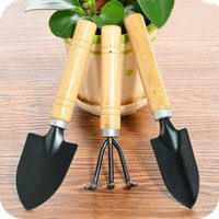 3 قطعة / المجموعة جديد الإبداعية أدوات البستنة ثلاثة قطعة أدوات حديقة مصغرة صغيرة مجرفة أشعل بكثير بولي
