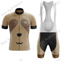 Racing Sets Cycling Jersey Set 2021 Sloth Men's Summer Clothing Suit Road Bike Shirts Bicycle Bib Shorts MTB Ropa Ciclismo Maillot