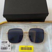 Designer óculos de sol de alta qualidade design de marca de luxo stellaire quadrado quadros nylon uv400 lente mulheres homens com pacote original