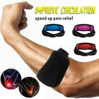 Sports Fitness Gel Band Golf Pain Relief Elbow Support Tenni...