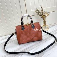 designer handbags Fashion Women High quality Genuine leather 5a Tote bags pillow Lady Casual Handbag 2 colors bag Size 25X19X15CM