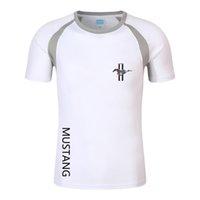 F1 قميص الصيف الرجال فورد موستانج تي شيرت الدراجة الجبلية موتو دراجة نارية سباق بدلة تنفس سريعة التجفيف