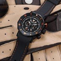 Mode Casual Quartz Regarder 3ATM Hommes Résistant à l'eau Montres Male Montre-Bracelet Calendrier Calendrier Montre-Bracelet
