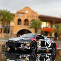 Nuovo 132 Audi R8 LMS Racing Lega Auto Modello Auto Die-casting e giocattolo Modello di auto Modello in miniatura Modello Sportivo Auto per bambini Giocattolo per bambini