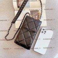 Натуральная кожаная сумка для кошелька с роскошным фирменным дизайнером подходит для всех iPhone 11 12Pro 11xs xsmax xr 8plus 8 7plus оптовой