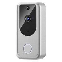 D1 Vidéo Soorbell Caméra 720P WiFi WiFi Smart Night Vision Smart Night Vision Détecteur de mouvement + Buzzer intérieur Emballage de détail exquis