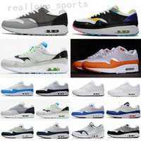 Todo 87 Atmos 87 Aniversário 1 Piet Parra 87 Premium Lunar 1 Deluxe Watermelon Runnin Sapatos Sneaker Qualidade Top TA09