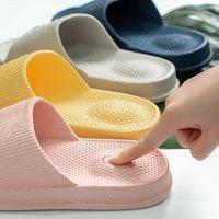 YouDiao Kaymaz Masaj Terlik Kadın Eva Kapalı Terlik Işık Kadın Ev Banyo Ayakkabıları Adam Su Geçirmez Sandalet Slaytlar Banyo 1134 Y2