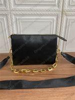 Çanta Kadın Çanta Deri Kabartma Mektubu Omuz Çantası Moda Kadın Zincir Fermuar Baget Çantalar Çapraz Çiçek Vücut Debriyaj Avrupa ve Amerikan Tarzı LB146