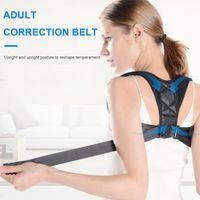 Back Support Adjustable Posture Corrector Invisible Upper Clavicle Women Men Belt Braces Shoulder Straightener