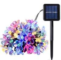 6V Solar Power Fairy String Lumières de 7m 50 Toys LED TOYS LED PÊCHER FLOOK JARDI Jardin Décoratif Peluche Patio Arbres de Noël Arbres de Noël